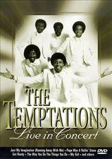 Live! [DVD] by The Temptations (Motown) (DVD, Jun-2008, ZYX Music)