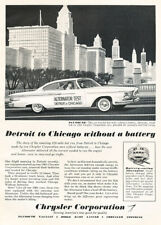 1961 Plymouth Fury chicago Classic Advertisement Ad P40