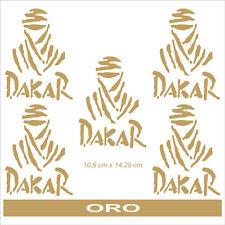 Adesivo Logo Paris Dakar oro  - adesivi/adhesives/stickers/decal