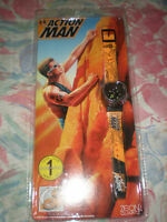 VINTAGE 1997 HASBRO ACTION MAN COMPASS & WRIST WATCH MINT NEW