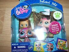 Littlest Pet Shop Postcard Pets LPS Beaver PVC Toy Figure # 1580 New