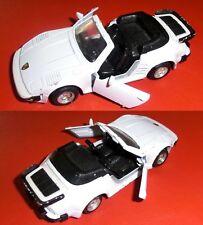 MC TOY - Porsche 911 Flat Nose 1/36 Cabrio aufziehbar