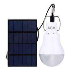 15W Solar Glühbirne LED Solarleuchte Außenbeleuchtung Solar Lampe Gartenlicht DE