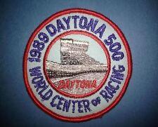 1989 NASCAR Daytona 500 Hat Jacket Racing Gear Patch Crest Darrell Waltrip