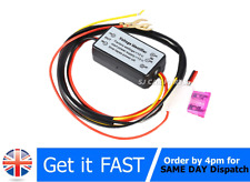 New DRL Controller Auto Car LED Daytime Running Light Relay Harness Dimmer Fog