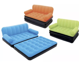 BESTWAY multi max  INFLATABLE S-D  AIR BED COUCH/SOFA BED MATTRESS LOUNGER 3 clo