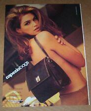 1991 ad page - Capezio Bags NUDE sexy girl handbag Print Advertising ADVERT