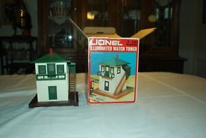 LIONEL  #6-2319  ILLUMINATED  SWITCH  TOWER