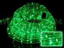 LED Lichterschlauch Lichtschlauch außen 2 - 50 meter grün Blinkfunktion wählbar