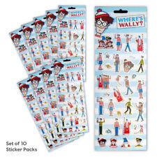 Where's Wally Stickers Party Bag Set of 10