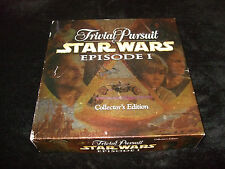 TRIVIAL PURSUIT:STAR-WARS (EPISODE-1) COLLECTOR'S-BOARD-GAME-1999- PARKER