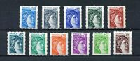 S11377) France MNH 31.3.1978, Def. 11v Rubber Tropical - Tropical Gum