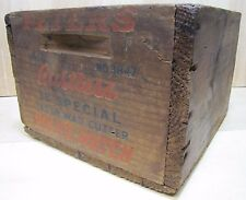 Old PETERS Small Arms Ammunition POLICE MATCH 38 Special Wooden Box Crate USA