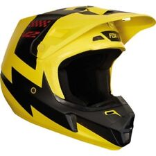 FOX  V2 MASTAR CASCO 2018 GIALLO (MAT) TAGLIA S (55/56cm)  CROSS ENDURO QUAD