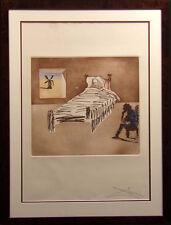Salvador Dali Le Legacy Historia de Don Quichotte de La Mancha suite H.Signed