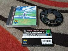 Top Players Golf   NTSC-J Japan Neo Geo SNK ADK   With Obi