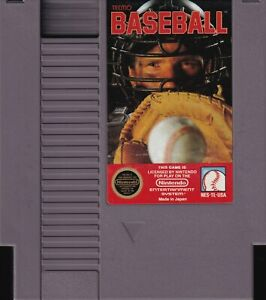 TECMO BASEBALL (1989) nes nintendo entertainment system us NTSC USA IMPORT