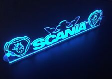 12V Blue LED Cabin Interior Light Plate for Scania Griffin Crown Truck Neon Sign
