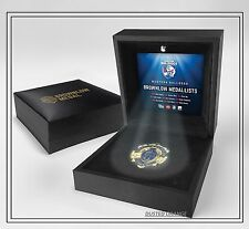 WESTERN BULLDOGS AFL BROWNLOW MEDAL REPLICA MEDAL IN BOX OFFICIAL AFL PRODUCT