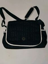 Emporio Armani Baby Messenger Diaper Bag Navy Blue