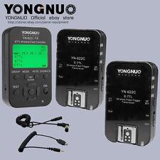 Yongnuo TTL YN622C-TX + 2pcs YN-622C HSS 1/8000  flash trigger for canon