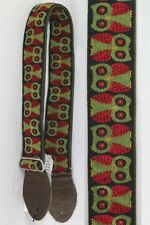 Souldier Straps Owls Olive for Electric Acoustic Guitar Bass