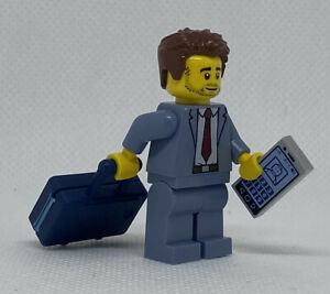 LEGO Airport Security Scanner Checkpoint /& Business Man TSA Baggage Body Scan