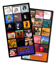 """MELVINS - twin pack discography magnet set (two 6.75"""" x 3.5"""" magnets)"""