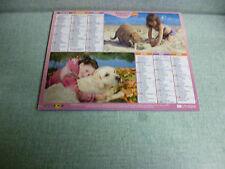 calendrier,Almanach des Postes 2015 l'enfant et son compagnon
