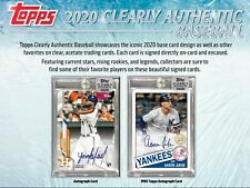 Derek Jeter 2020 CLEARLY AUTHENTIC 20BOX PLAYER CASE BREAK #1