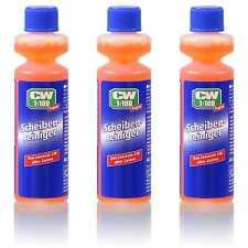 3x Dr.Wack CW1:100 Super Scheibenreiniger 40 ml Konzentrat Anti-Kalk-Formel