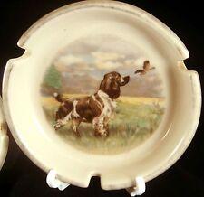 HYALYN COCKER SPANIEL BIRD DOG ASHTRAY HUNTING Grouse Game Hunter Ceramic Fowl