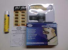 Intellipet Cirtronella Dog Anti Bark Collar w/ Extra Batteries & Spray No Shock