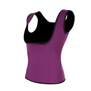 Women Sweat Sauna Body Shaper Slimming Vest Thermo Neoprene Waist Trainer Hot