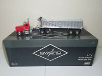 Peterbilt 357 with East Dump Trailer - Red Sword 1:50 Scale Model #SW2044-R New!