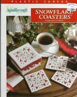 Snowflake Coasters with Box in Plastic Canvas The Needlecraft Shop 1991