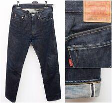 Levi's 501Z XX Big E Men's W31 L 34 Selvedge Jeans Denim USA Hidden rivets Raw