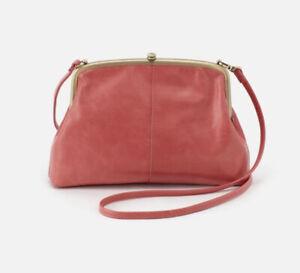 Hobo Intl NWT Lana Tea Rose  Leather  Crossbody Bag