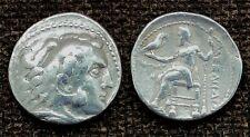 ANCIENT COIN - Alexander the Great III TETRADRACHM 336-323 BC - FREEPOST UK