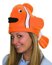 Funny Clown Fish Costume Hat Nemo Luau Hat One Size Fits Most