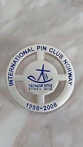 Olympic bid candidate pins Tromsø 2014 very rare IPCN  silver