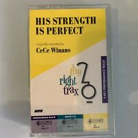 Originally Recorded by CeCe Winans His Strength Is Perfect (Cassette)
