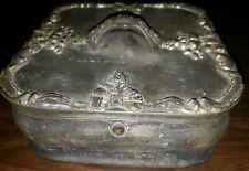 Meriden B. Company Rogers Bros Humidor #238 19th Century Scale Marking