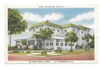 The Wigwam Hotel, St. Petersburg, Florida Vintage Linen Postcard