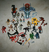 Vintage Kenner Alien & Predator Figure & Vehicle Lot Dropship, Loader - A709