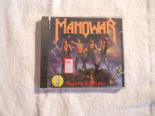 "Manowar ""Fighting the world"" 1987 Atco Records cd New Sealed"