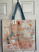 NEW TJ Maxx Shopping Bag Paris Reusable Tote Bag NWT