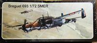 SMER 1/72 Breguet 693  unmade complete kit sealed #1