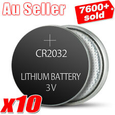 10x CR2032 3V LITHIUM CELL BATTERY 5004LC 2032 ECR2032
