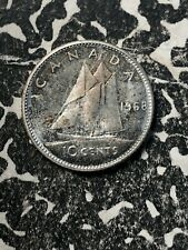 1968 Canada 10 Cents (8 Available) High Grade! Beautiful (1 Coin Only) Silver!